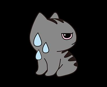 Little Kitten Animated Emoji messages sticker-3