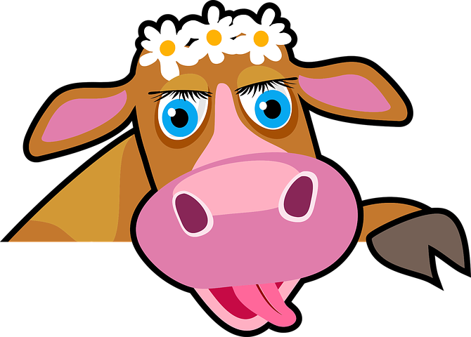 Cow Stickers - 2018 messages sticker-7