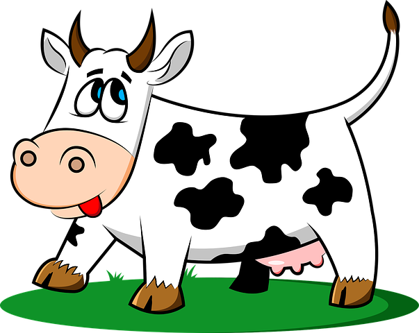Cow Stickers - 2018 messages sticker-3
