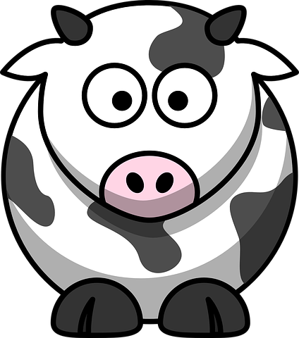 Cow Stickers - 2018 messages sticker-5