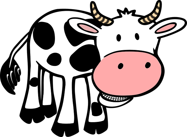 Cow Stickers - 2018 messages sticker-2