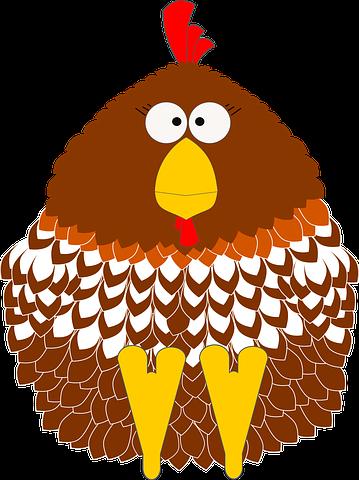 Chicken N Turkey Stickers messages sticker-7