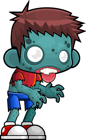 Zombie Stickers - 2018 messages sticker-8