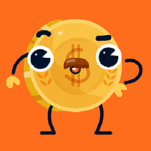 Carrott Coins Sticker Pack messages sticker-1