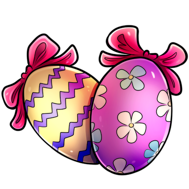 Easter Stickers | Comic Style messages sticker-5