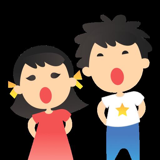 Sing karaoke songs a long VOCA messages sticker-10