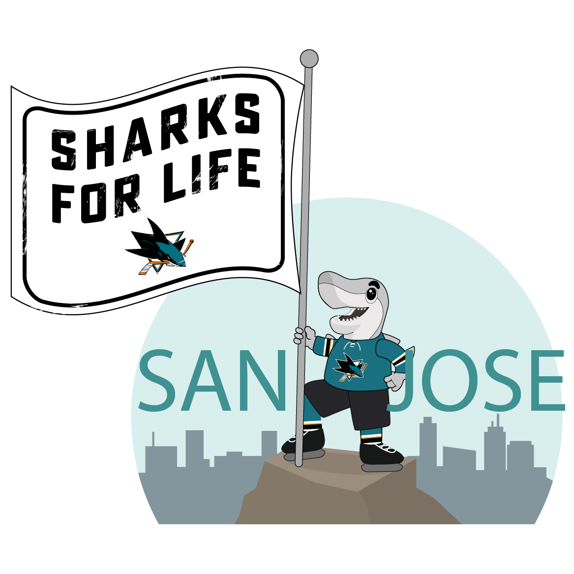 S.J. Sharkie Sticker Pack messages sticker-8