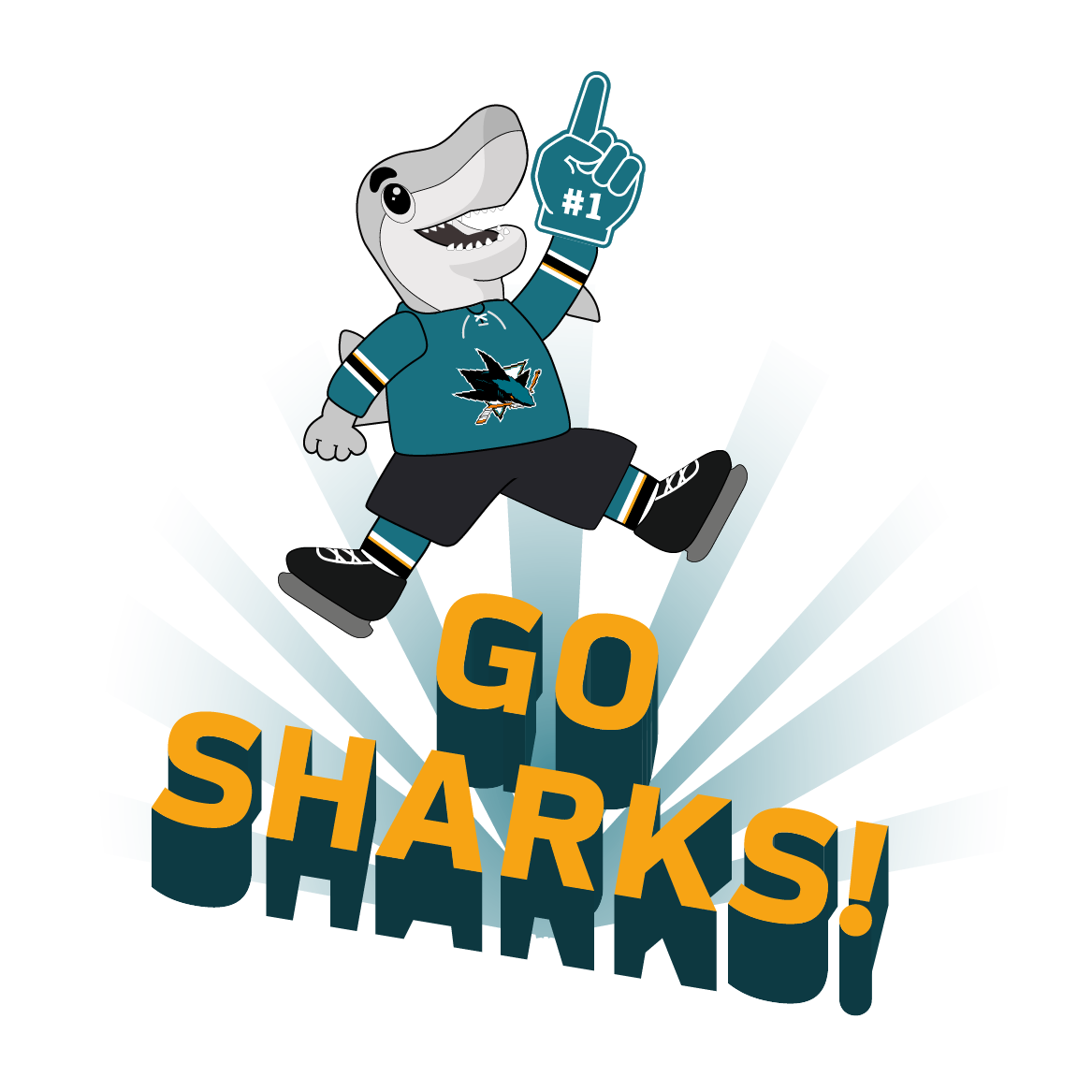 S.J. Sharkie Sticker Pack messages sticker-3
