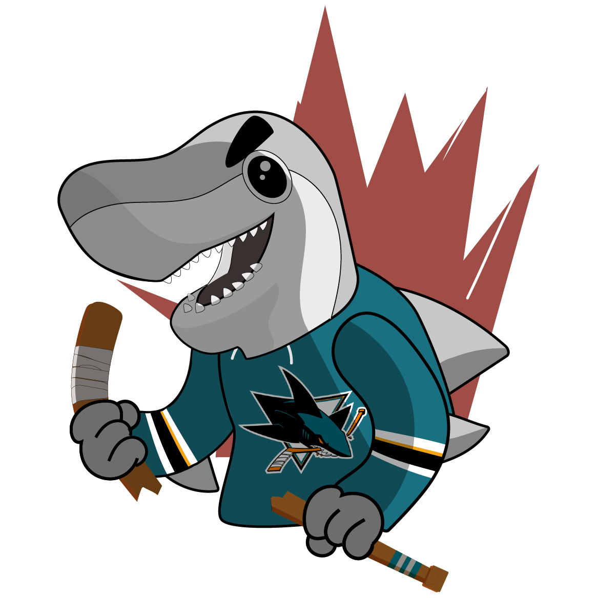 S.J. Sharkie Sticker Pack messages sticker-2