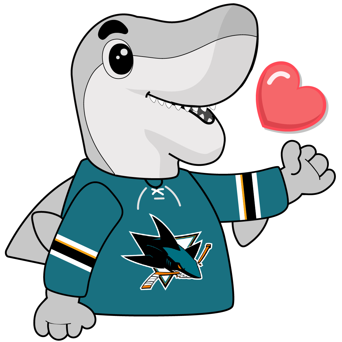 S.J. Sharkie Sticker Pack messages sticker-5