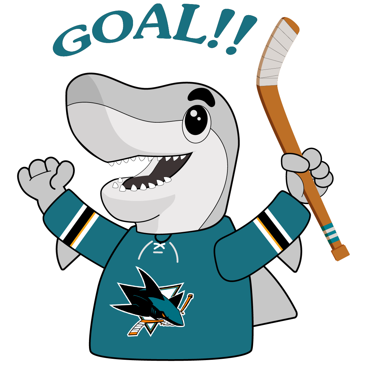 S.J. Sharkie Sticker Pack messages sticker-4