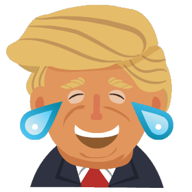 Silly President Stickers messages sticker-7