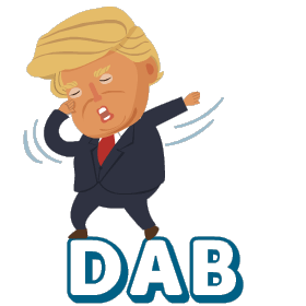 Silly President Stickers messages sticker-4