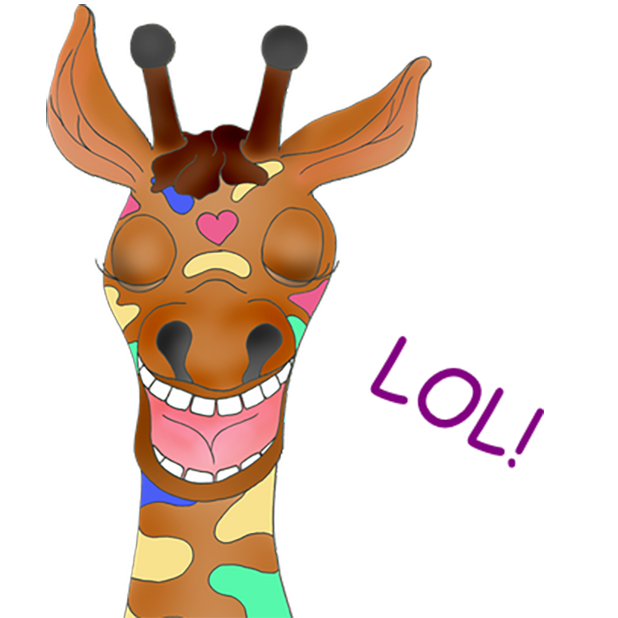 Giraffe Expressions messages sticker-6