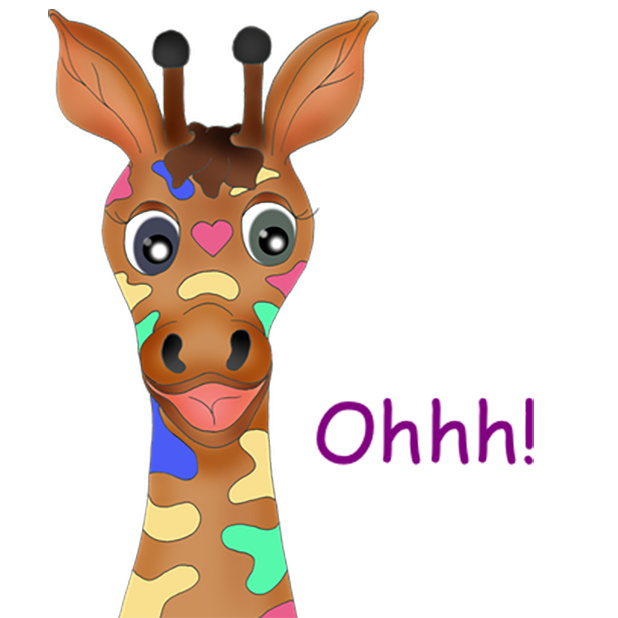 Giraffe Expressions messages sticker-9