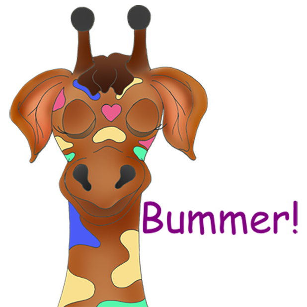 Giraffe Expressions messages sticker-0