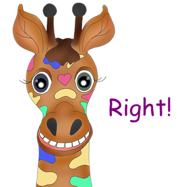 Giraffe Expressions messages sticker-11