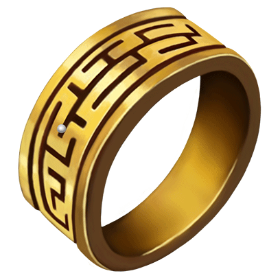Rings of Rich only VIP messages sticker-5