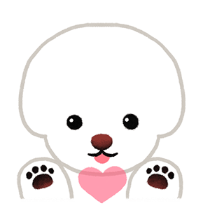 Yallet the bichon (taster) messages sticker-9