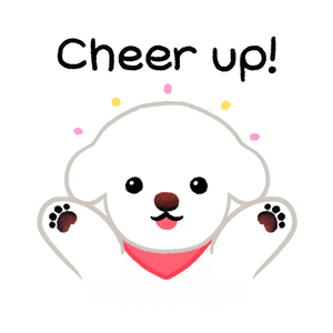 Yallet the bichon (taster) messages sticker-1
