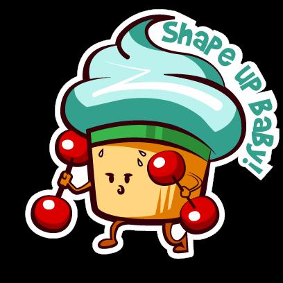 Cupcake Adventures Stickers messages sticker-6