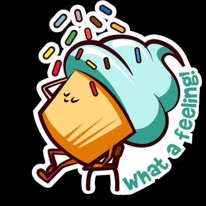Cupcake Adventures Stickers messages sticker-7