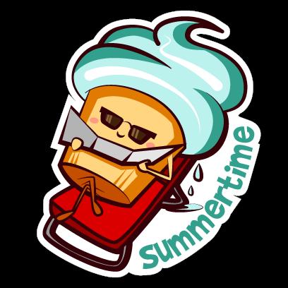 Cupcake Adventures Stickers messages sticker-8