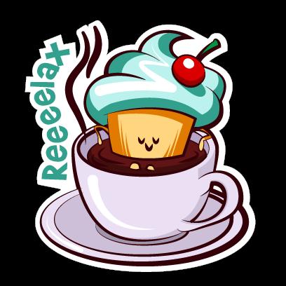 Cupcake Adventures Stickers messages sticker-5