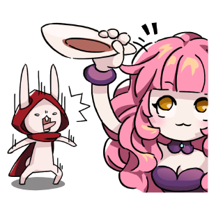 Rabbit in the moon messages sticker-11