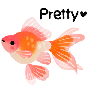 Happy tropical fish (taster) messages sticker-6