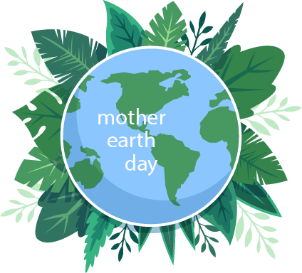 Mother Earth Day (2018) messages sticker-0