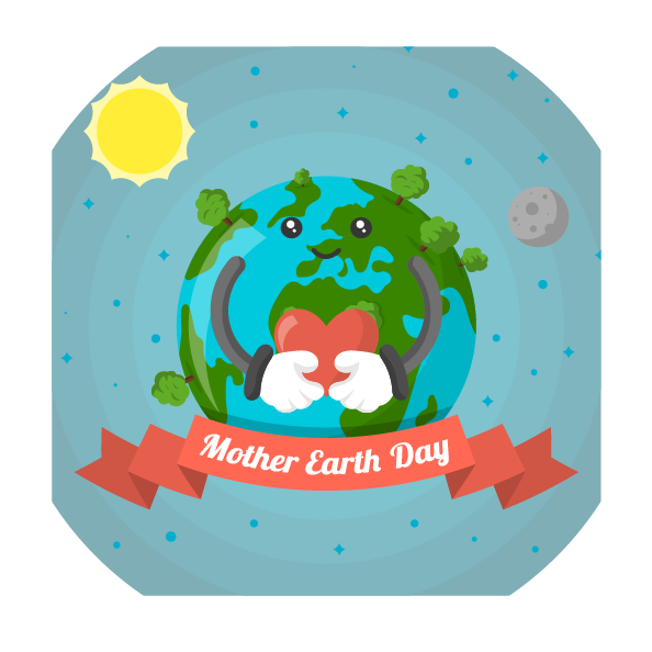 Mother Earth Day (2018) messages sticker-5