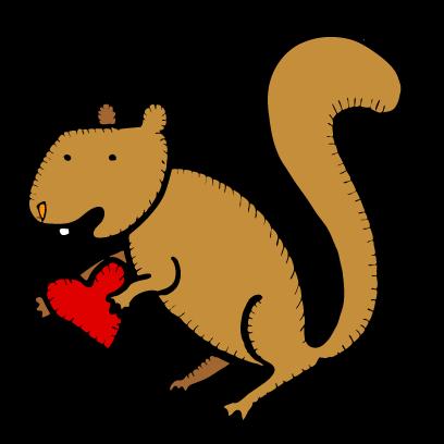 Happy Squirrels Stickers messages sticker-0