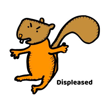 Happy Squirrels Stickers messages sticker-4