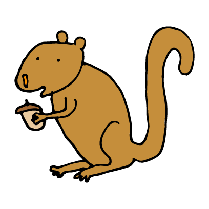 Happy Squirrels Stickers messages sticker-2