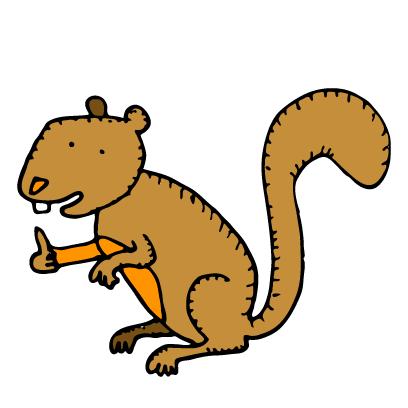 Happy Squirrels Stickers messages sticker-7