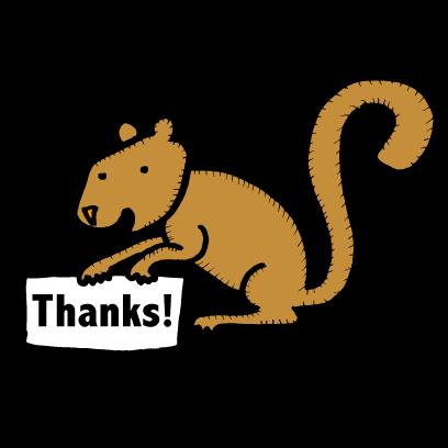 Happy Squirrels Stickers messages sticker-11