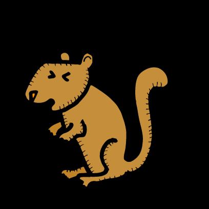 Happy Squirrels Stickers messages sticker-1