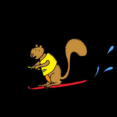 Happy Squirrels Stickers messages sticker-10