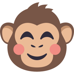 Monkey Pack by EmojiOne messages sticker-7