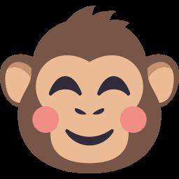 Monkey Pack by EmojiOne messages sticker-7