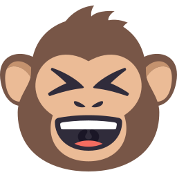 Monkey Pack by EmojiOne messages sticker-2