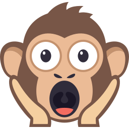 Monkey Pack by EmojiOne messages sticker-3