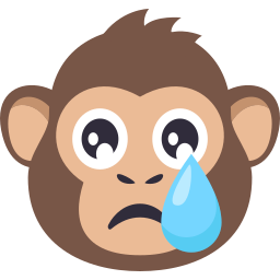 Monkey Pack by EmojiOne messages sticker-1