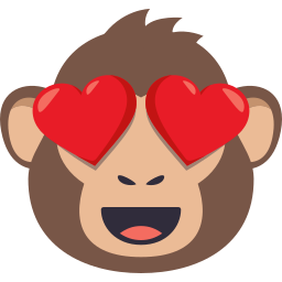 Monkey Pack by EmojiOne messages sticker-0