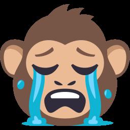 Monkey Pack by EmojiOne messages sticker-6
