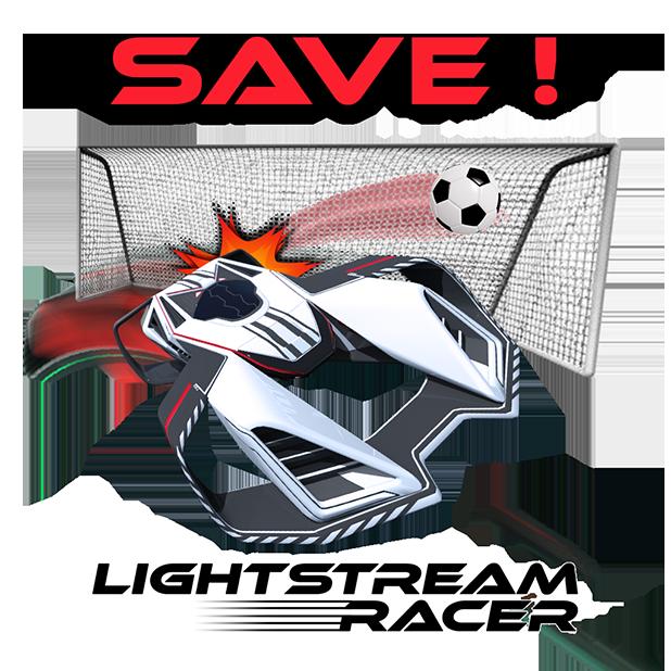 Lightstream Racer messages sticker-1