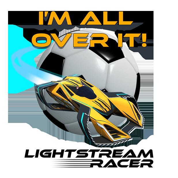 Lightstream Racer messages sticker-2