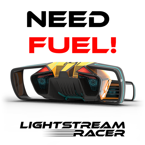 Lightstream Racer messages sticker-4
