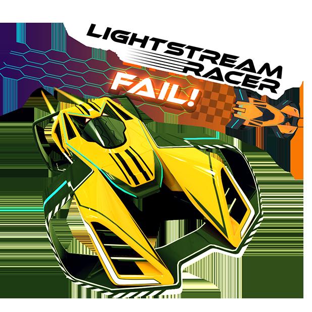 Lightstream Racer messages sticker-10